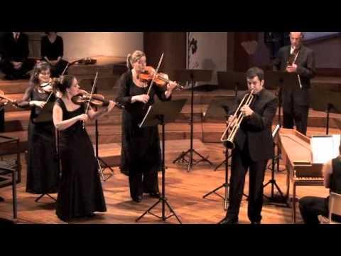 Giuliano Sommerhalder - Telemann Concerto - Baroque trumpet