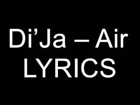 Di'Ja – Air Lyrics