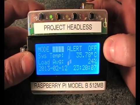 Raspberry Pi Battery Powered Headless Pi With Lcd