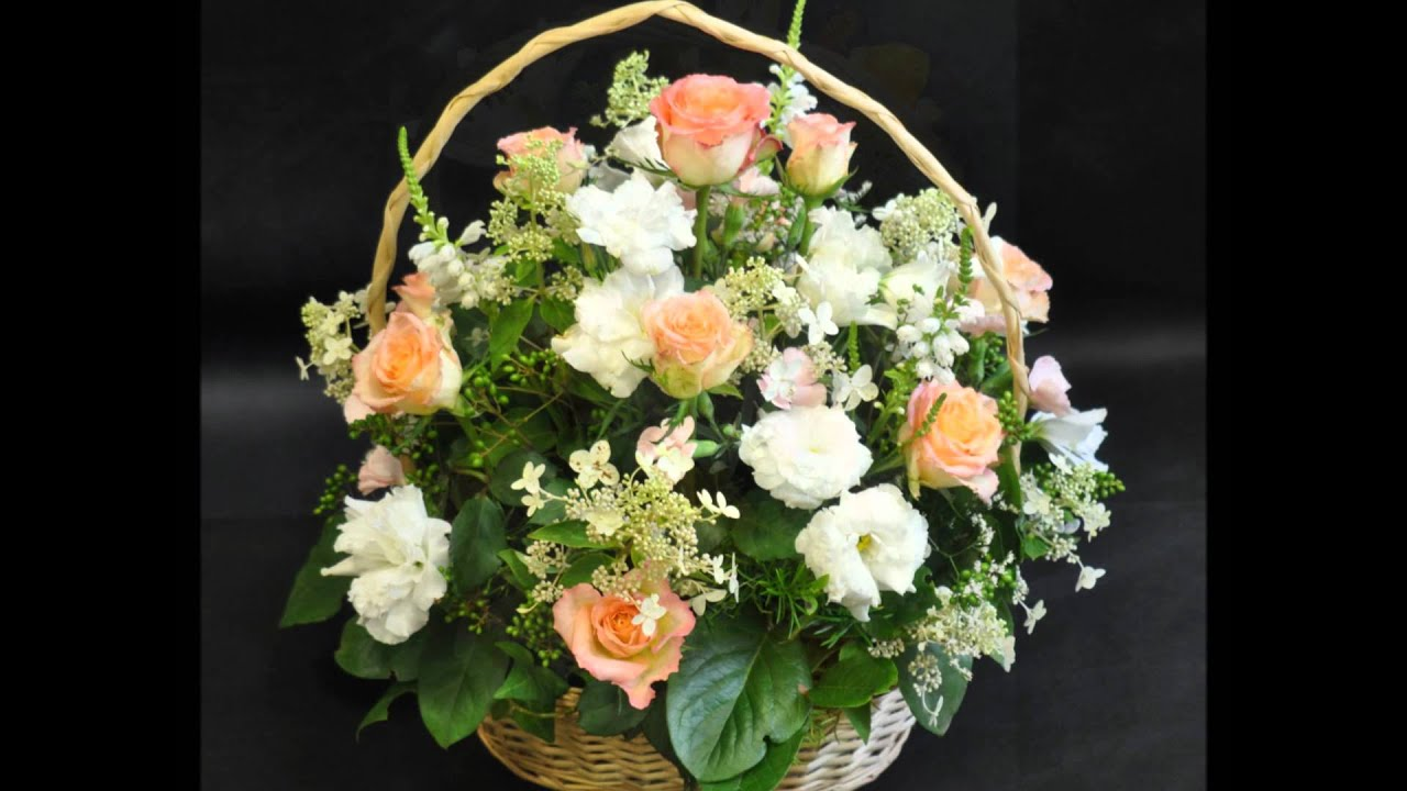 Kosze Kwiatowe Szkola Florystyczna Malgorzaty Niskiej Youtube
