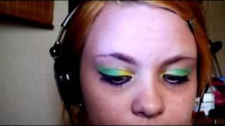 Yellow, Green and Pink Eye Shadow Tutorial Thumbnail