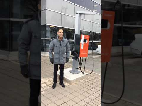 Mississauga Volkswagen - electric vehicle quick charge station