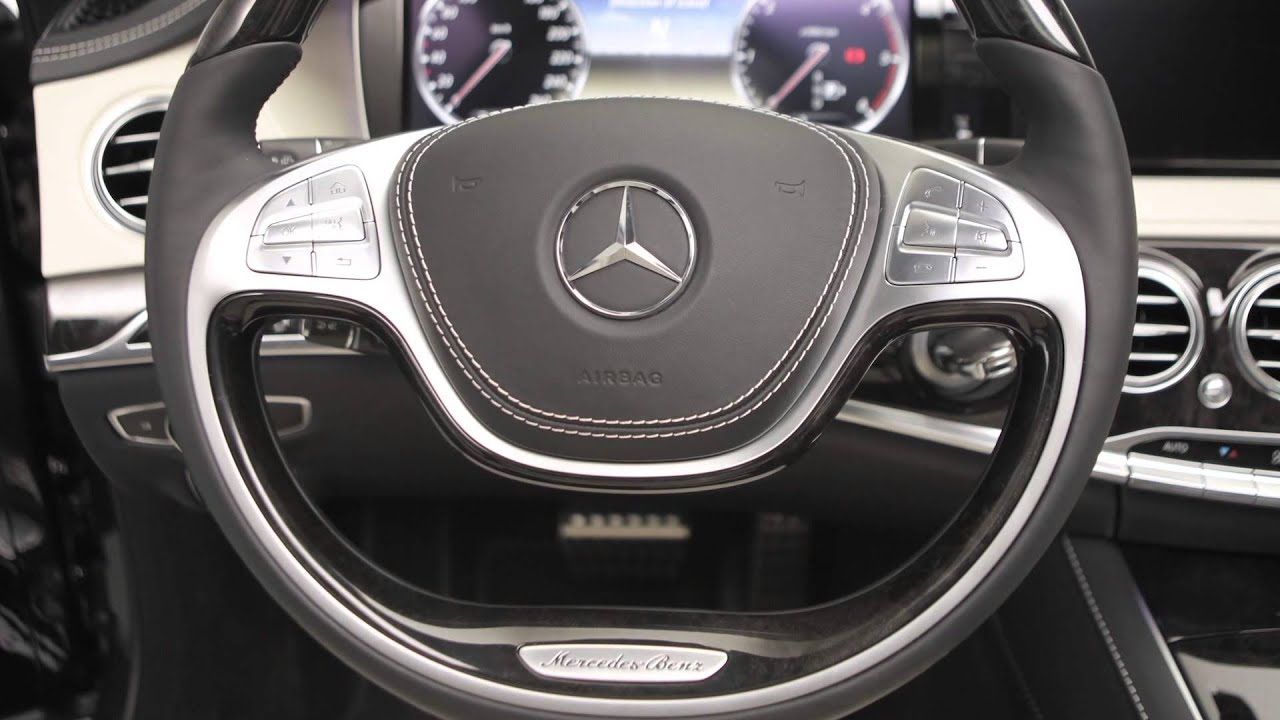 2014 S Class Interior Design    Mercedes Benz   YouTube