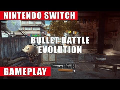 Bullet Battle: Evolution Nintendo Switch Gameplay