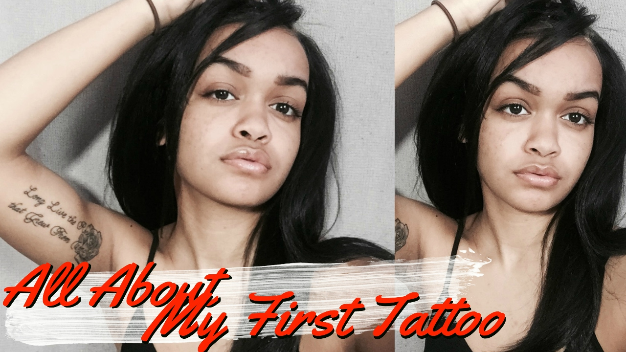 My First Tattoo Experience Inner Bicep Pain Aftercare Etc