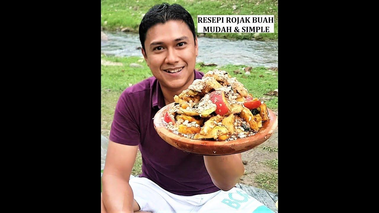 RESEPI ROJAK BUAH MUDAH SIMPLE // RESEP RUJAK BUAH ENAK - YouTube