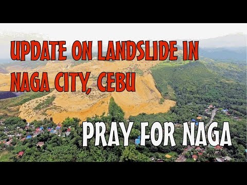 News Update on Landslide in Naga city , Cebu, Rescue Operations Ongoing