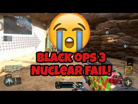 Black ops 3: Annoying nuclear fail!!