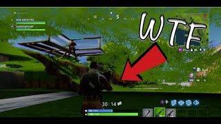 JEU-BREAKING Glitch In Fortnite: Battle Royale (UNDER LOOT LAKE!)