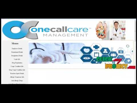 Online Drug Management System   Final Year Projects 2016 - 2017