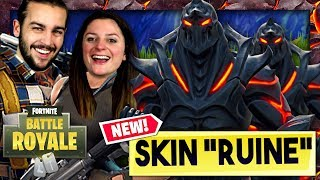 ON DÉBLOQUE LE NOUVEAU SKIN RUINE ! FORTNITE DUO FR