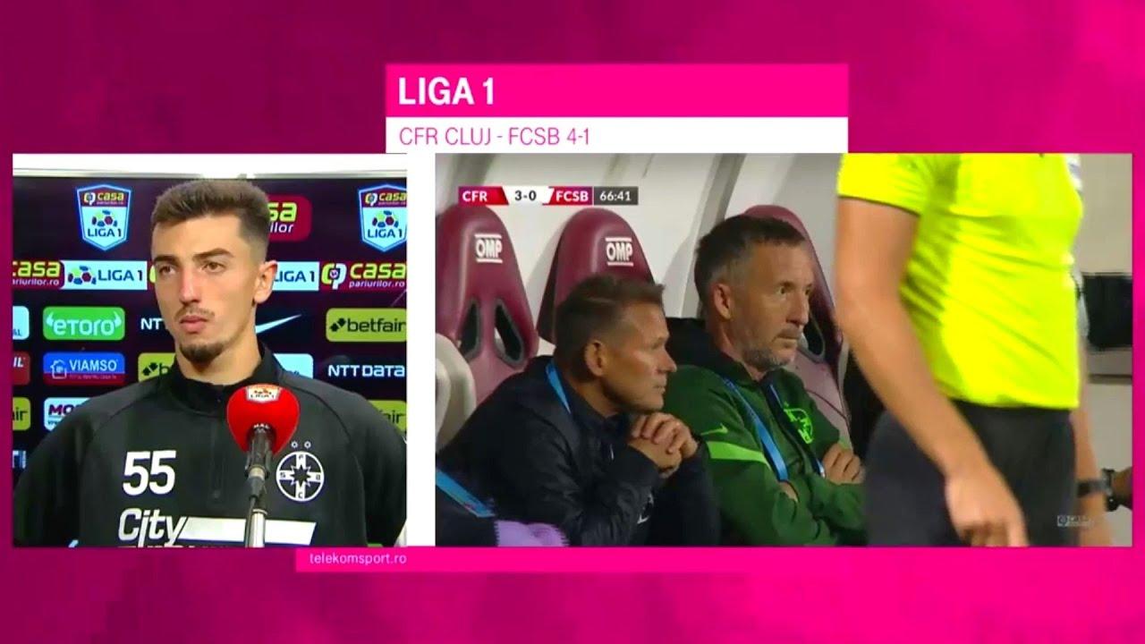 Explicațiile FCSB după înfrângerea usturătoare cu CFR Cluj. Iordănescu cere jucători de la Becali