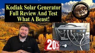 Best Solar Generator 2018 - Full Review And Test