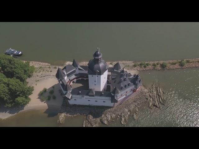 Die Burg Pfalzgrafenstein,