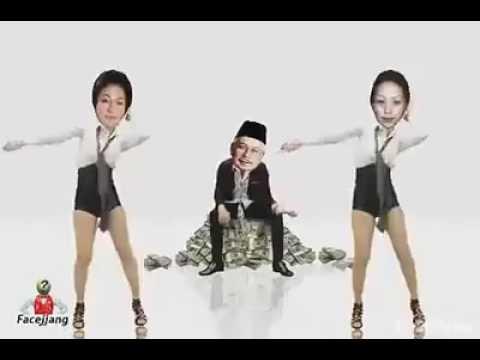 Najib and rosmah menari