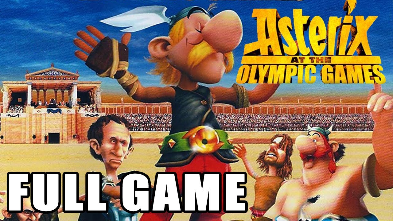 Download Asterix at the Olympic Games【FULL GAME】walkthrough   Longplay