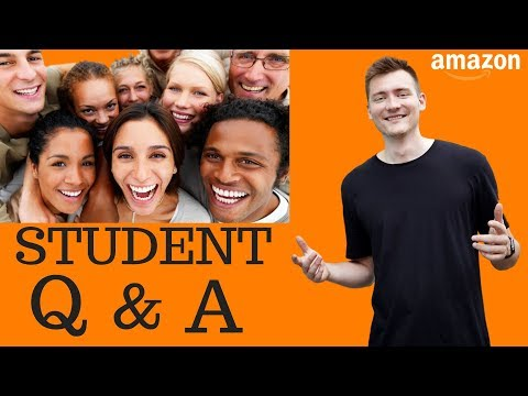 AMAZON FBA QUESTIONS (actual questions and answers from our students + GIVEAWAY ANNOUNCEMENT)