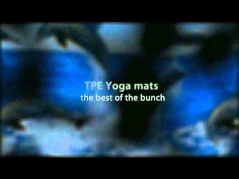TPE EVA and PER  yoga mats