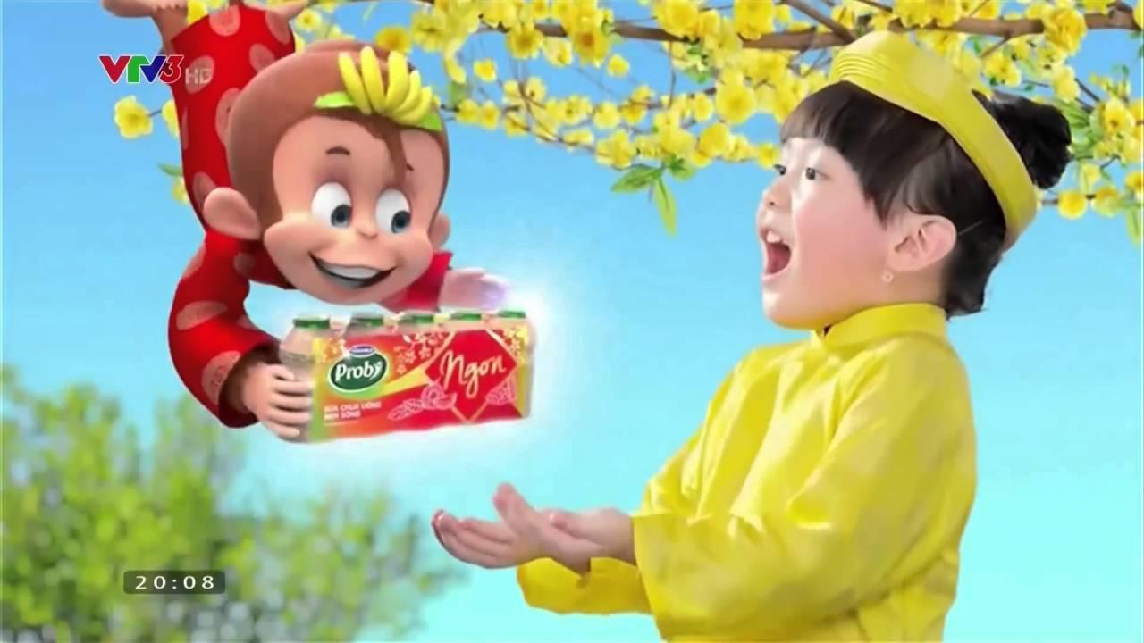 [booking quảng cáo truyền hình VTV9] Quảng cáo sữa chua ăn Vinamilk