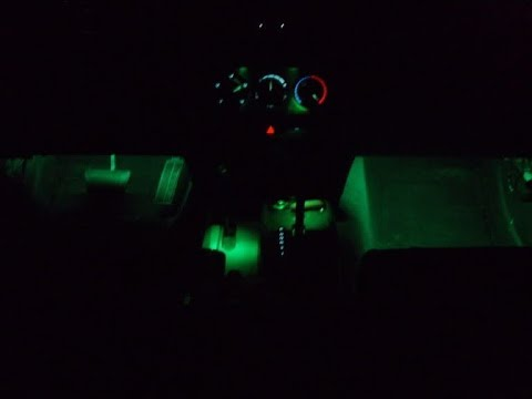 Jeep Wrangler JK Footwell Lights Mod (OEM Modification)