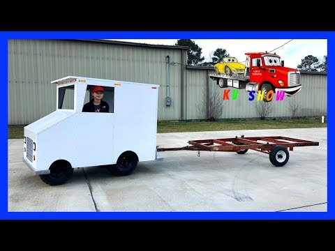 Kruz Pulling A Trailer Project With The Box Van