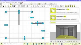Utwórz obiekt o dowolnym kształcie w modelu 2D i 3D pomieszczenia w Tilelook