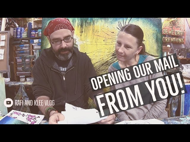 Opening Our Mail From You Our YouTube Family