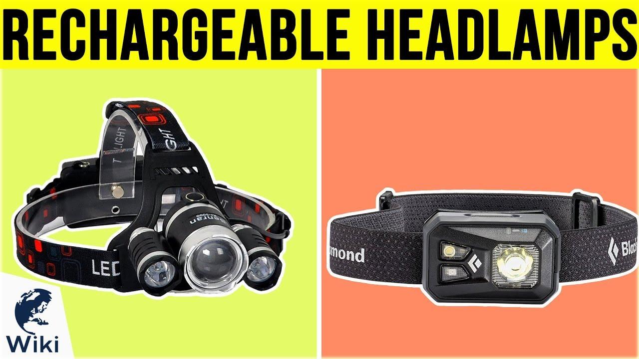 Rechargeable Outdoor USB LED Light Weatherproof IPx4 Headlamp Headlight Lamp