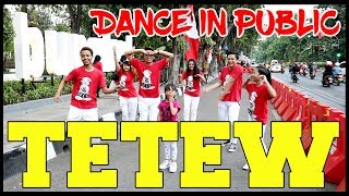 GOYANG TETEW IN PUBLIC - Choreography by Diego Takupaz
