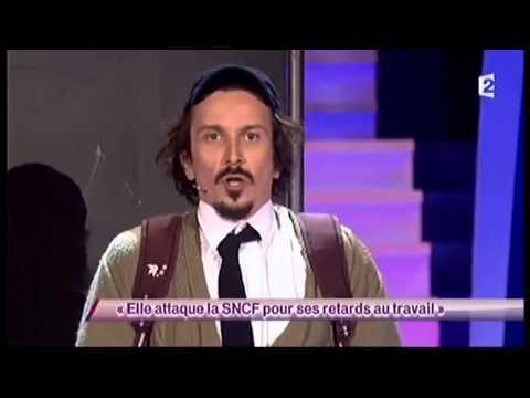 Arnaud Tsamere [50] Elle attaque la SNCF pour ses retards au travail - ONDAR
