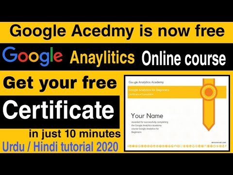 how-to-get-google-analytics-certification-|-google-free-certificate-course-|-google-6-free-courses