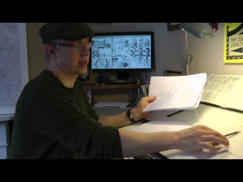 Brighton Graphic Novel: Artist Nye Wright, QueenSpark Books
