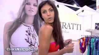 Tugba shows off Ritratti bikinis