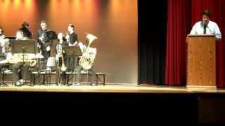 Montgomery HS Jazz Festival 4/12/13: Holmdel High School Jazz Band (Entire Set)
