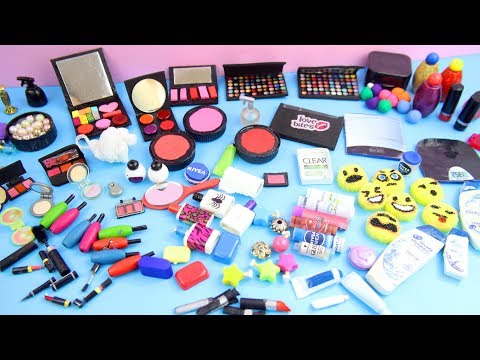 100+ Miniature Doll Stuff Collection #3-  Handmade miniatures and doll Makeup / Cosmetics  stuff