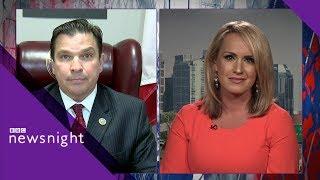 Trump's 'zero-tolerance' immigration policy: Discussion - BBC Newsnight