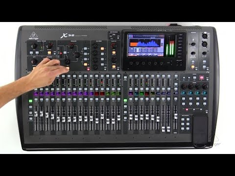 Getting To Know The X32: How To Use The 2-Track USB Recorder