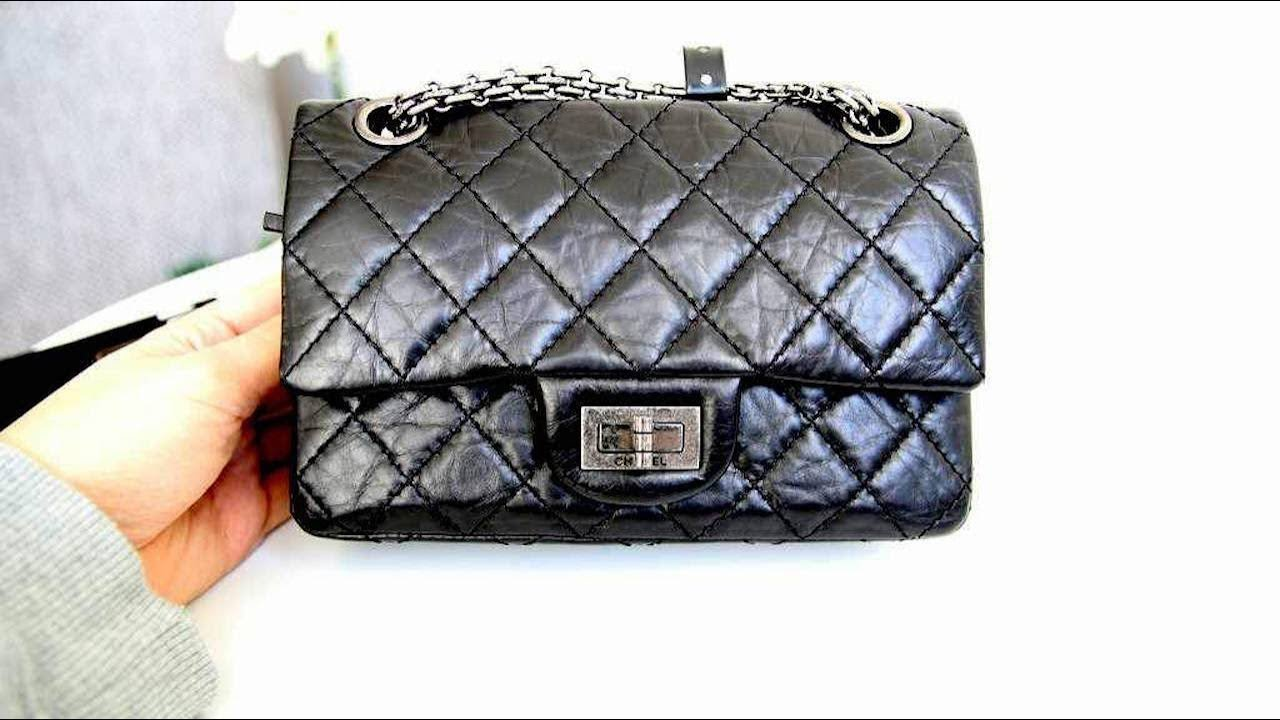 d22813fc5546 CHANEL 2.55 REISSUE 224 - DID I BUY A FAKE CHANEL BAG  - YouTube