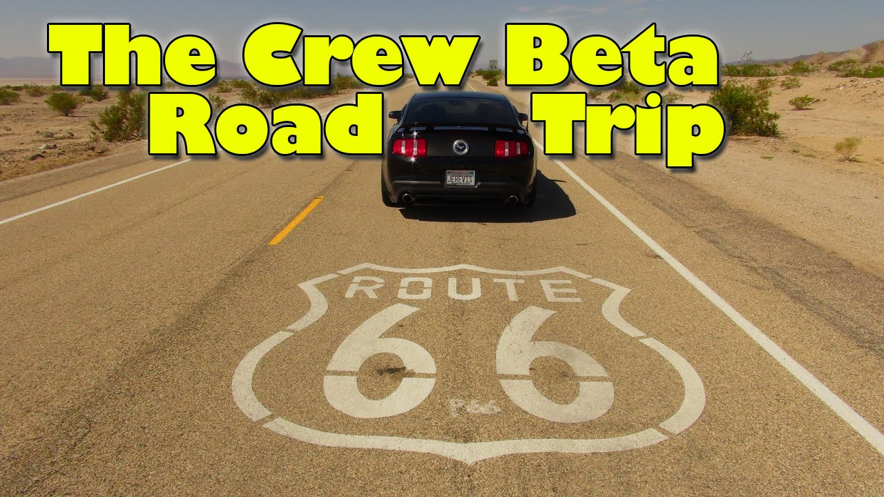 The Crew Beta Route Full Trip Part Of YouTube - The crew us map