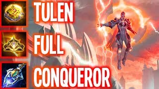 AOV: FULL CONQUEROR TEAM ft. Darkbreaker+Rank1 | Arena of Valor Tulen Burst Build