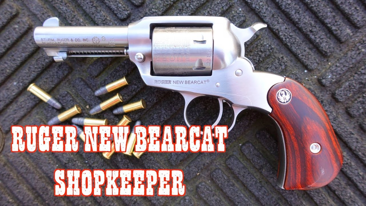 THE RUGER NEW BEARCAT 22LR - SHOPKEEPER