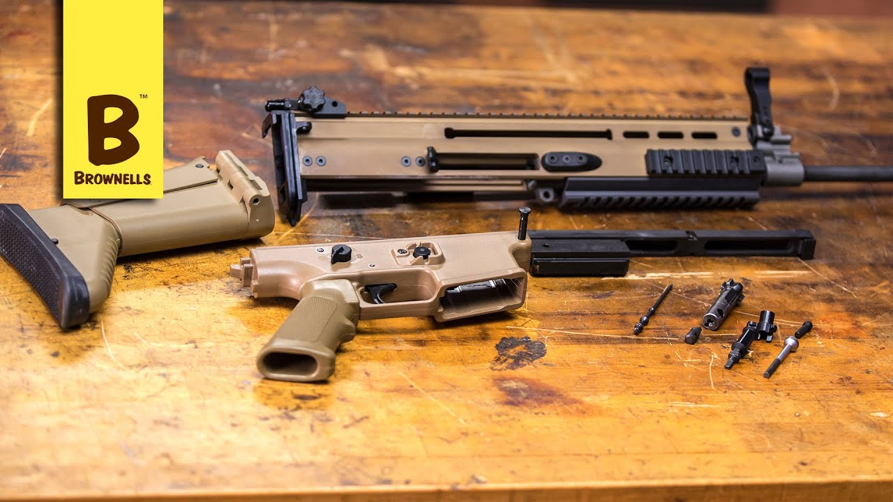 Firearm Maintenance Fn Scar Disassembly Part 1 Youtube