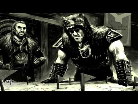 Skyrim: Custom Main Menu Background (Ulfric Stormcloak)