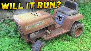 RUSTY SCRAPYARD MOWER - Will it Run?