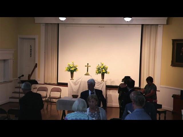 St. John's service August 8, 2021
