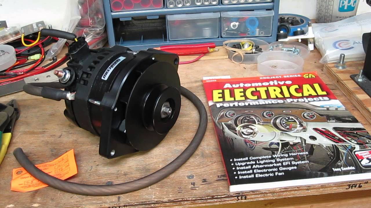 Mechman Billet Tech 12si Alternator For 1970 Olds Cutlass Featured Wiring Diagram In Upcoming Book Carb To Efi