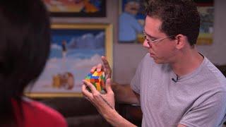 Logic solves Rubik's Cube