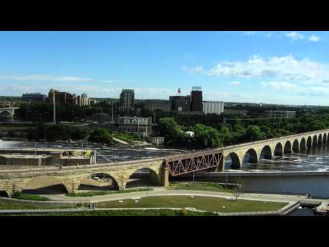 View from the Mill City Museum - Minneapolis