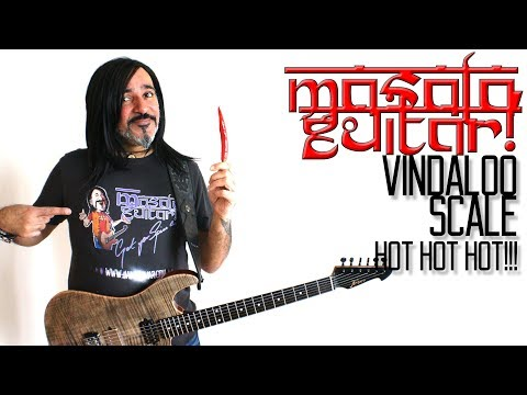 Vindaloo Scale! Hot Hot Hot!!! Masala Guitar! 😊