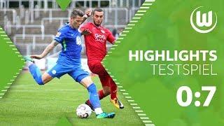 KSV Baunatal - VfL Wolfsburg 0:7 |Highlights + Tore | Testspiel
